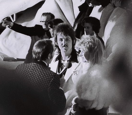 Paul and Linda McCartney Mullet. Image by I, Corwin (Creative Commons License: Attribution).